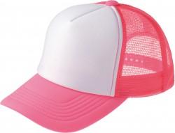 126 蛍光ピンク×ホワイト