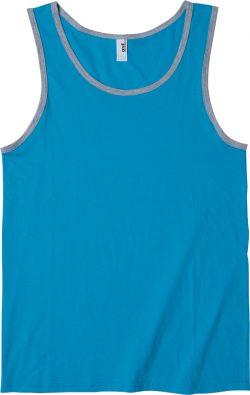 【FRONT】color:カリビアンブルー×ヘザーグレー
