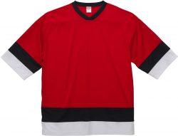 【FRONT】color:レッド×ブラック×ホワイト