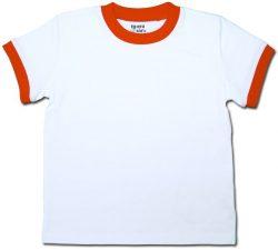 color:ホワイト×オレンジ