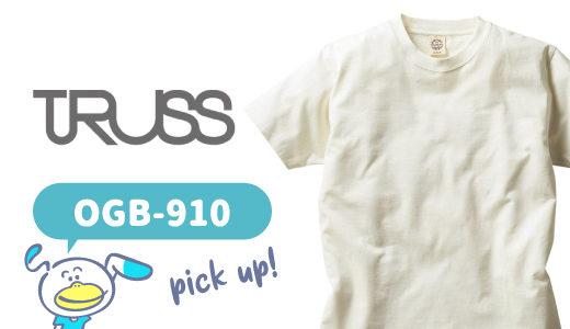 環境にやさしいウェアなら!オーガニックコットンTシャツ【OGB-910】