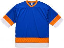 9871 コバルトブルー×オレンジ×ホワイト